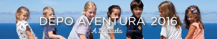 #Campamentos de verano Depo Aventura 2016 de la Diputación de #Pontevedra con 300 plazas gratis para menores en riesgo de exclusión https://www.campamentos.info/Noticias/campamentos-depo-aventura-2016-de-diputacion-de-pontevedra