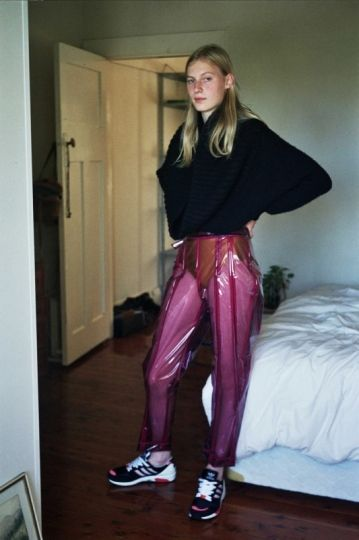 julia likes metal & making out, Julia Nobis by Samuel Hodge for Russh Magazine.