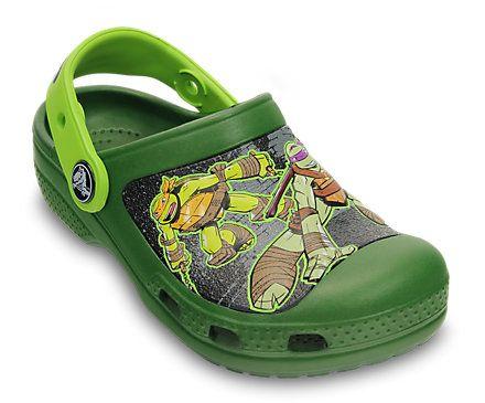 @Nichole McMillan Creative Crocs Teenage Mutant Ninja Turtles™ Clog   Kids' Clogs   Crocs Official Site