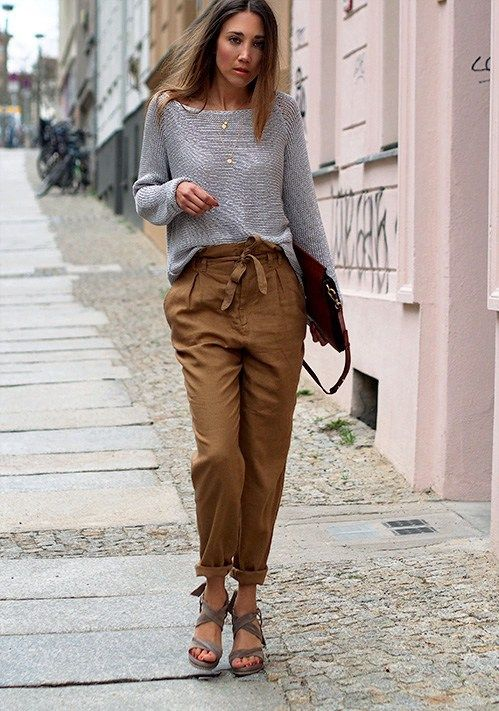 22 Best Paper Bag Pants Images On Pinterest Brown Bags