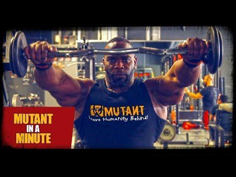 Mutant TV: Upright Row + Front Raise - Johnnie O. Jackson MUTANT MASH UP