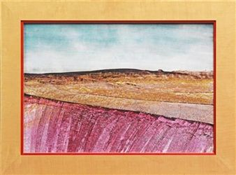 Central Australia By Sidney Nolan ,1968