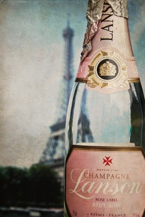 My fave, and what Simon bought to toast our engagement! Rose, Paris, Inspiration, Eiffel Towers, Pink Champagne, Bubbles, France, Bottle, Drinks