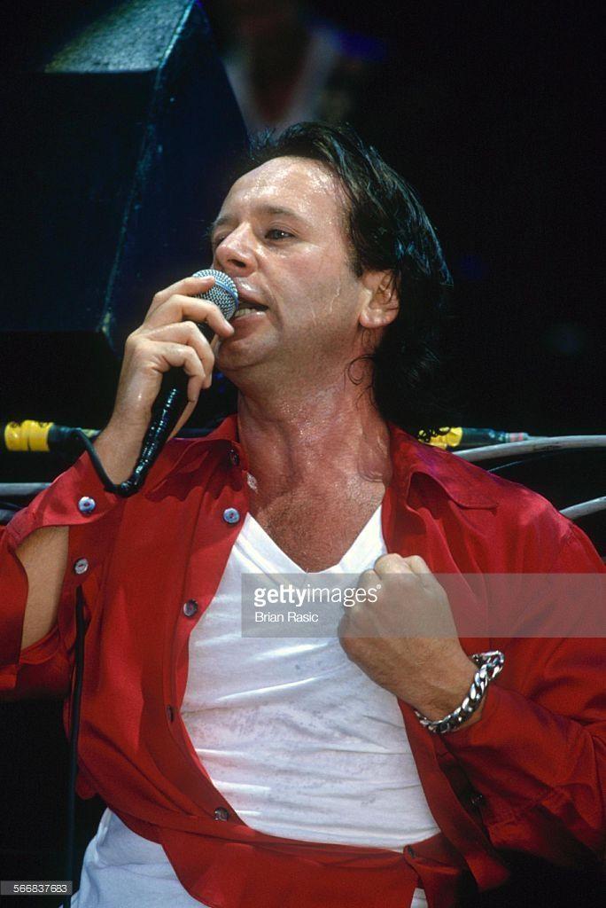 Glastonbury Festival, Britain - 1995, Jim Kerr - Simple Minds