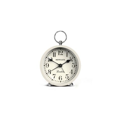 the gents mini alarm clock in puddle blue by newgate clocks our vintage inspired fob