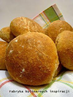 Fabryka Kulinarnych Inspiracji: Bułeczki pszenno razowe