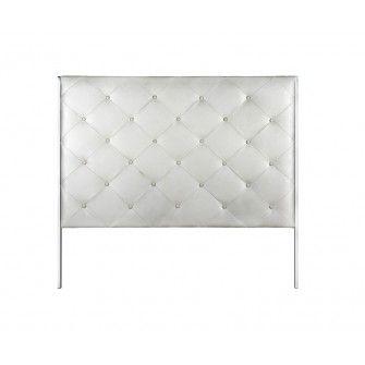 17 mejores ideas sobre cabeceros tapizados en pinterest - Cabecero capitone blanco ...