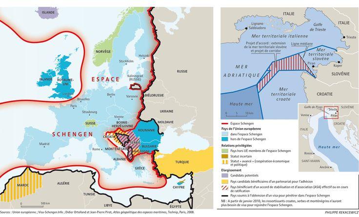 La morsure balkanique dans l'espace Schengen, par Philippe Rekacewicz (Le Monde diplomatique, novembre 2009)