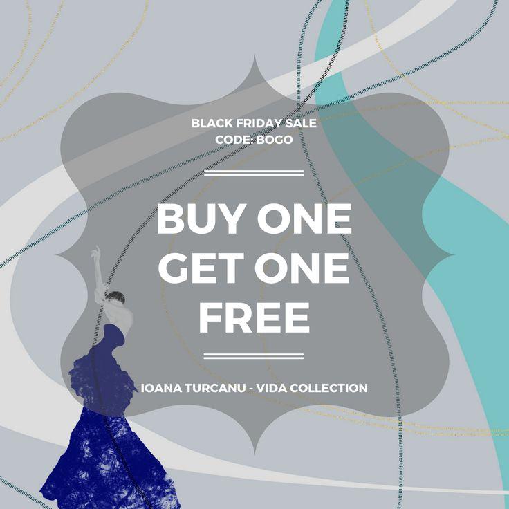 BLACK FRIDAY SALE buy one - get one FREE  Ioana Turcanu - VIDA collection