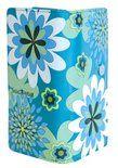 bol.com | SHAGWEAR portemonnee Vintage Flowers turquoise - 0395Z