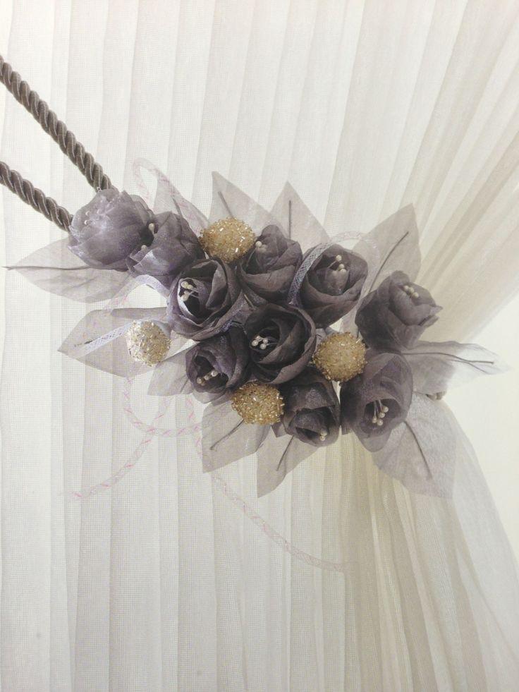 handmade roses tassel