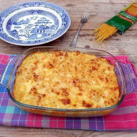 Karfiolos-sajtmártásos spagetti Recept képpel -   Mindmegette.hu - Receptek