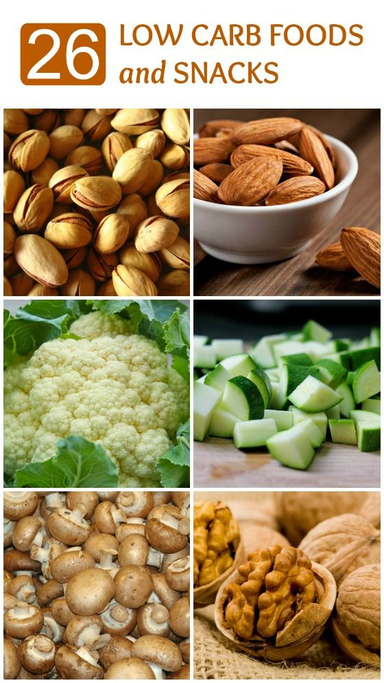 26 Low Carb Foods and Snacks