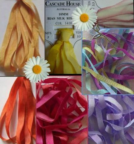 Silk Ribbon Sale 15% off + Free Shipping