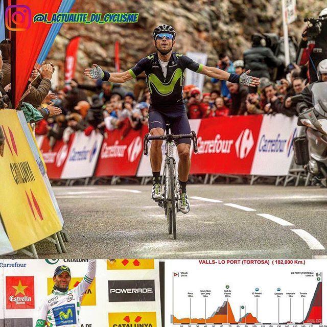 "Volta a Catalunya 2017 (World Tour)   Stage 5 :  1. Alejandro Valverde (Movistar Team) the 182km in 4:14'52""  2. Christopher Froome (Team Sky) at 13""  3. Alberto Contador (Trek – Segafredo) s.t  4. Marc Soler (Movistar Team) at 25""  5. Adam Yates (ORICA-Scott) at 32""  6. Daniel Martin (Quick-Step Floors) at 46""  7. David Gaudu (FDJ) at 58""  8. Hugh Carthy (Cannondale-Drapac Pro Cycling Team) at 1'04""  9. Jakob Fuglsang (Astana Pro Team) at 1'11""  10. Steven Kruijswijk (Team LottoNL..."