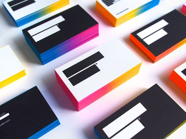 IS Creative Studio / business cards 3rd edition by IS Creative Studio. , via Behance