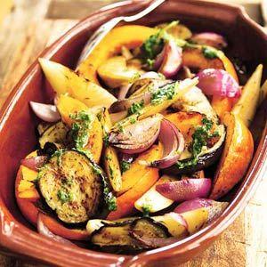 Gegrilde groenten - Recept - Allerhande - Albert Heijn