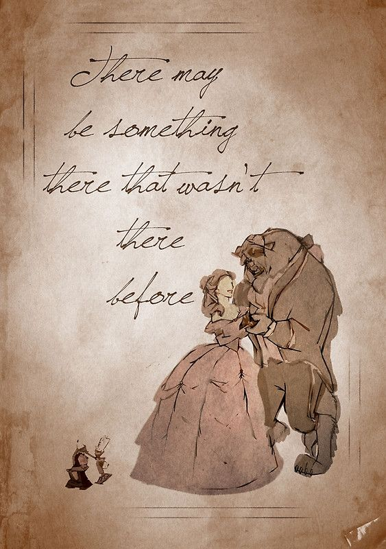 There may be something there that wasn't there before | Disney Love |Beauty and the Beast Dsiney Couple | @dgiiirls