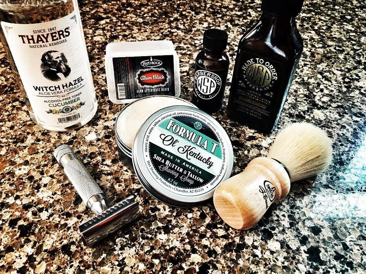 SOTD: 3/27/2016 Wet Shaving Products Formula T Ol' Kentucky Wet Shaving Products Aftershave Ol' Kentucky (mentholated) Thayers Cucumber Witch Hazel Wet Shaving Products El Grande Closed Comb Razor Omega S-Brush Synthetic S-10005 Wet Shaving Products Barbershop Pre Shave Oil Crystal Blade Razo Rock Alum Block @wetshavingproducts @omegabrush Thayers Natural RazoRock Joe #wetshave #syntheticbrushes #shaveoftheday #sotd #safetyrazor #shaving #shavelikeaboss #shavelikeyourgrandpa #wetshavin...