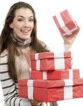 Cheerleading Fundraising - Christmas Gift Wrapping Service