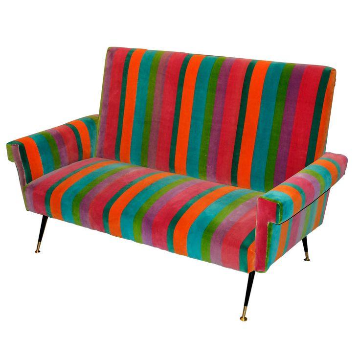1950s italian sofa modern sofamidcentury - Mid Century Modern Furniture Of The 1950s