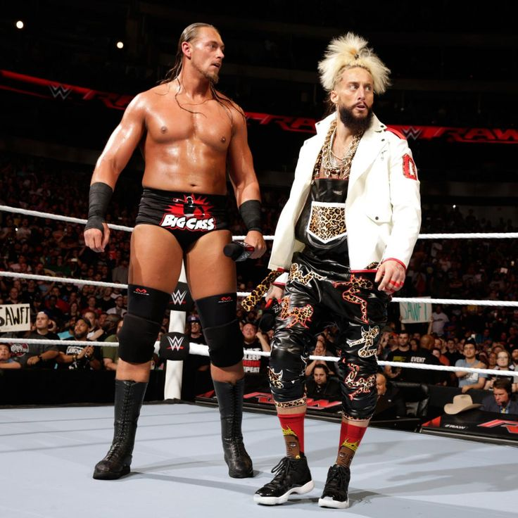 Colin Cassady and Enzo Amore in their Raw debut.