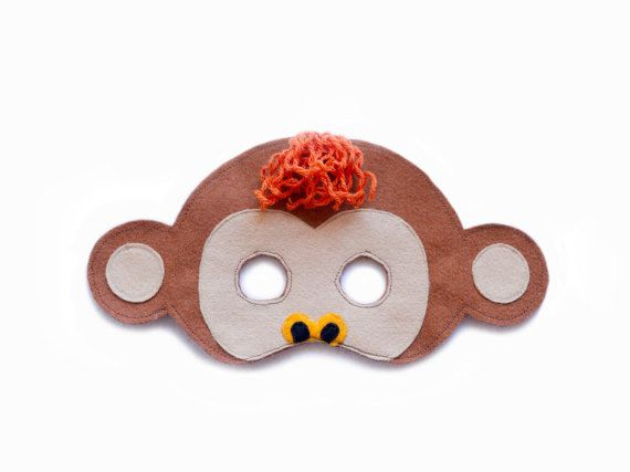 SINGE se sentait Masque Masque d'Animal Jungle par pokiplays - 15€                                                                                                                                                                                 Plus