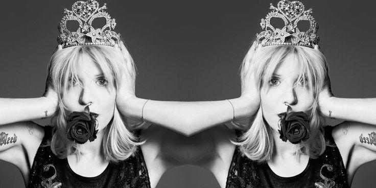 Courtney Love's Fresh Start  - HarpersBAZAAR.com