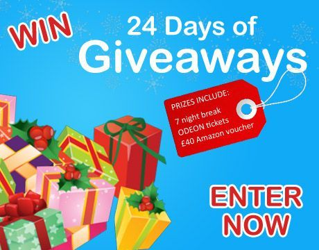 christmas advent giveaways from love holidays!!!