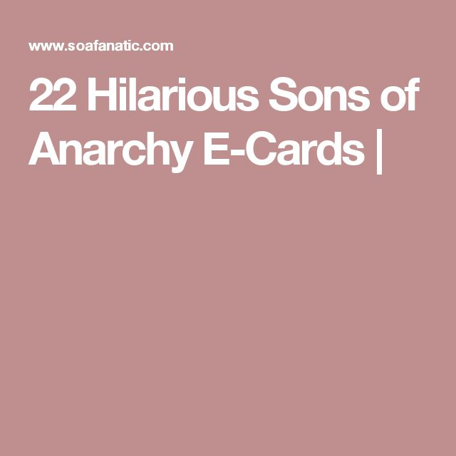 22 Hilarious Sons of Anarchy E-Cards |