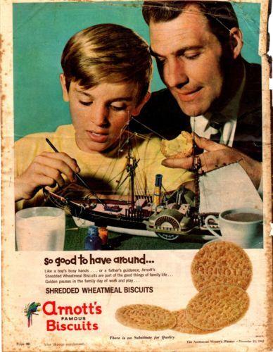 ARNOTTS BISCUITS KITCHENALIA - Vintage advertisement 1962 original