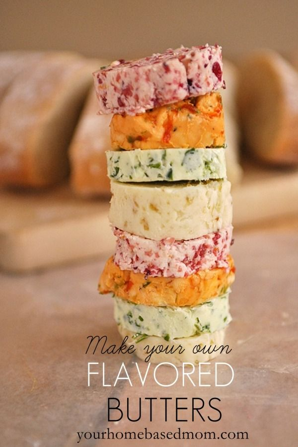 Make Your Own Flavored Butters Recipe