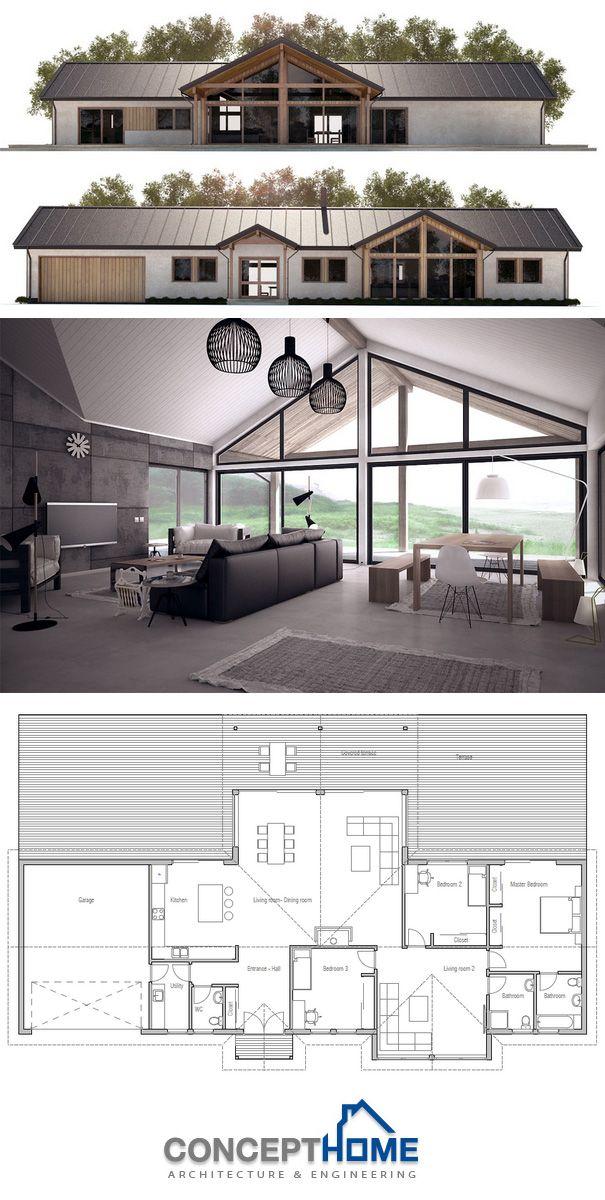25 best ideas about rambler house on pinterest rambler for Modern rambler house plans