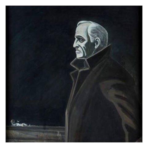 Игорь Павлович Обросов (1930 — 2010) . Михаил  Ульянов. Три мастера в галерее РОСИЗО