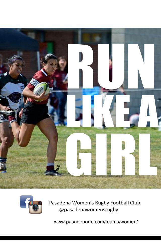 Pasdena Women's Rugby recruitment campaign