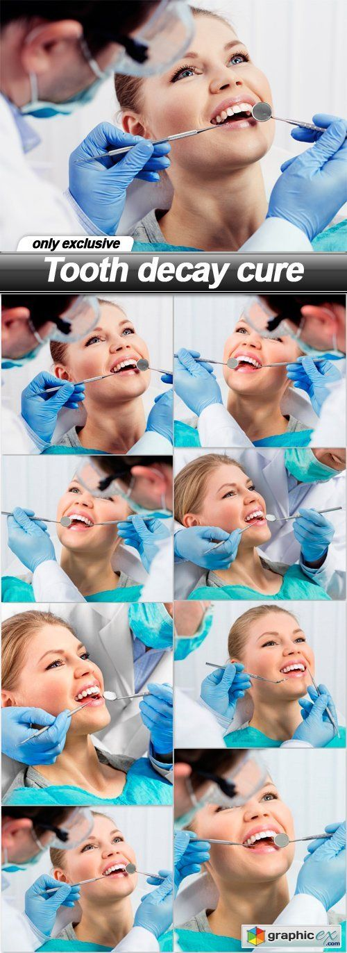 Tooth decay cure  8 UHQ JPEG  stock images