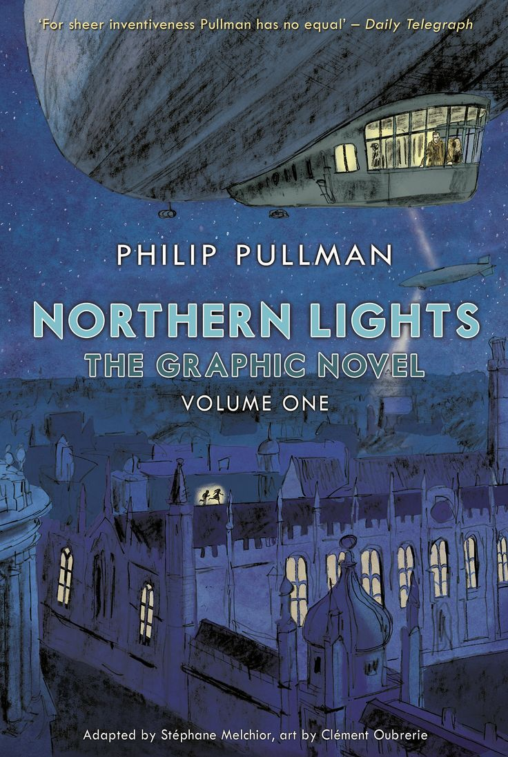 Northern Lights by Philip Pullman as a graphic novel – in pictures