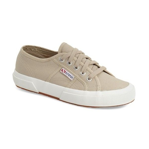 Women's Superga 'Cotu' Sneaker ($65) ❤ liked on Polyvore featuring shoes,