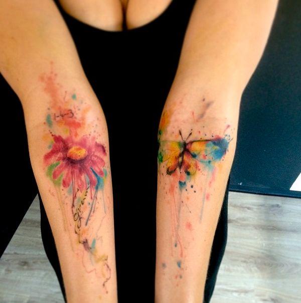 Emrah de Lausbub-Tattoo-Ink-InkObserver-Watercolors-Abstract-Heilbronn-Germany 8