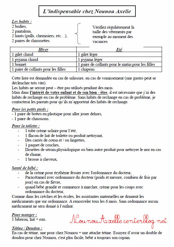 Aide Travaux Caf Assistant Maternelle