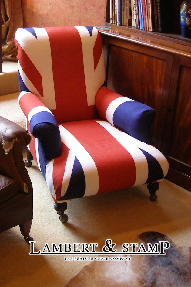 The UofJ to read in . Find this Pin and more on Union Jack Chair ...