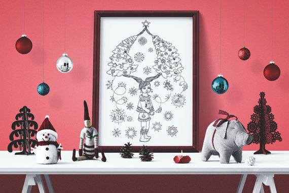 Braids and trees - Charming Christmas