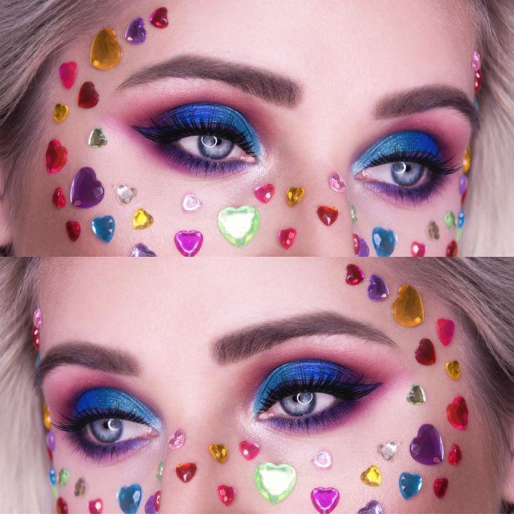 Plastic hearts makeup