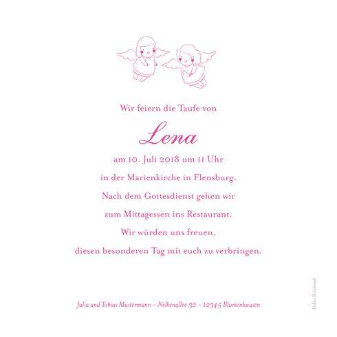Taufeinladung Engel Foto By Tomoë Für Rosemood.de #Taufe #Einladungskarten  #Engel #