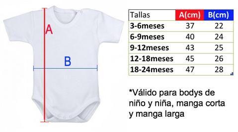 9de1a3494 Resultado de imagen para tabla medidas body bebe | molde bebe | Ropa ...