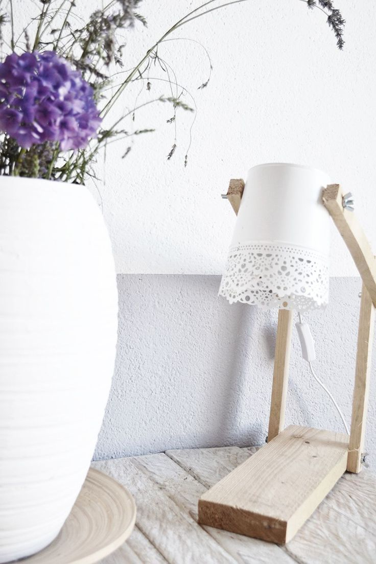 DIY lamp met hout Het huis van Woontrendz blogger Gemma!