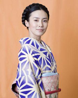 Miki Nakatani / Japanese actress. Kimono.