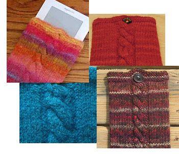Modèle de tricot gratuit Kindle Pocket