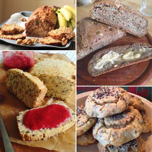 Brote und Brötchen ohne Kohlenhydrate - 12 großartige Rezepte In der heutigen Rezeptsammlung: 12 Low Carb Rezepte für Brot und Brötchen, dreht sich, wie es der Name schon sagt, alles um Low Carb und Paleo konforme…