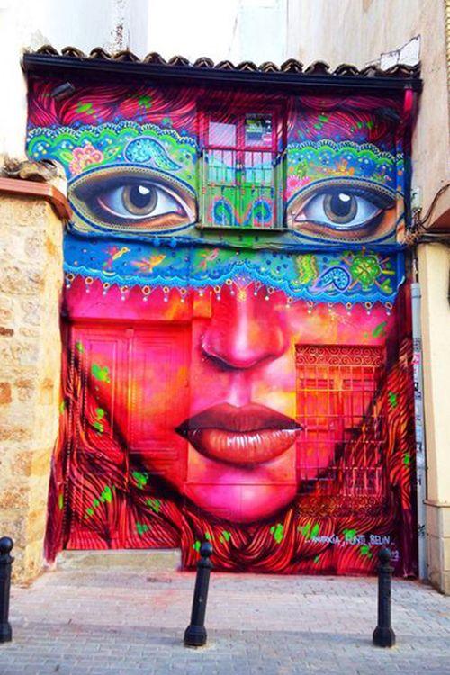Gorgeous Street Art                                                                                    #daily #inspiration